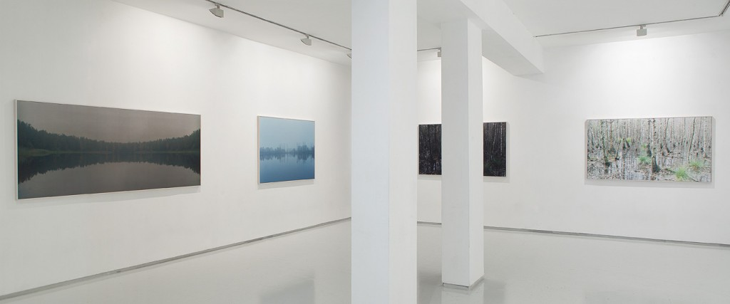 Places that are not, Exhibition view, Noga Gallery of Contemporary Art, 2010