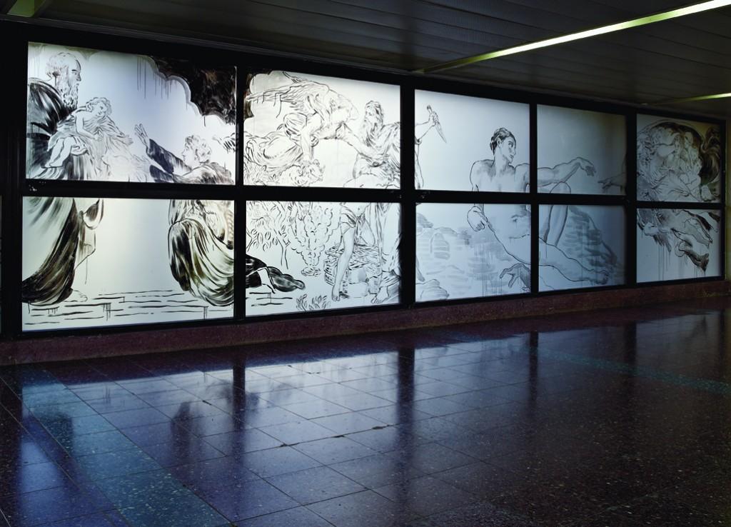 Jossef Krispel, Meir Hospital Petach tikva, installation view, 2014