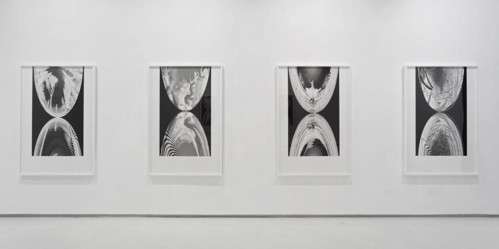 Joshua Borkovsky, Mirros, The Garden (3), installation view, Noga Gallery of Contemporary Art, 2014