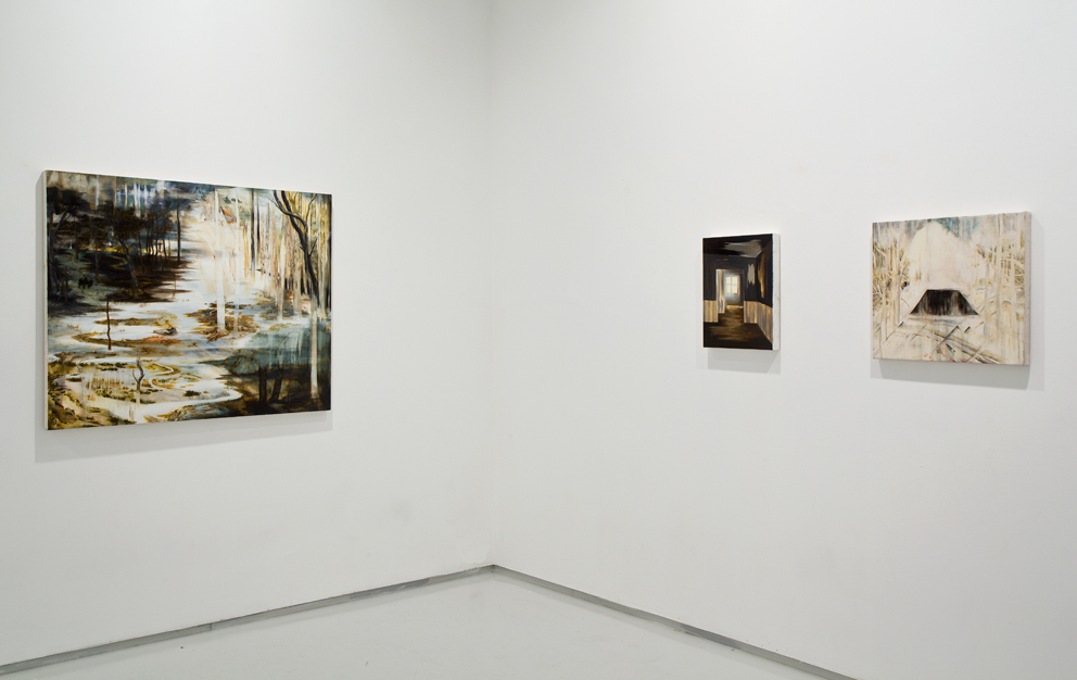 Tracing Echoes, Exhibition view, Noga Gallery of Contemporary Art, 2009