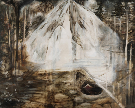 The Digger, oil on canvas, 150x120cm, 2008