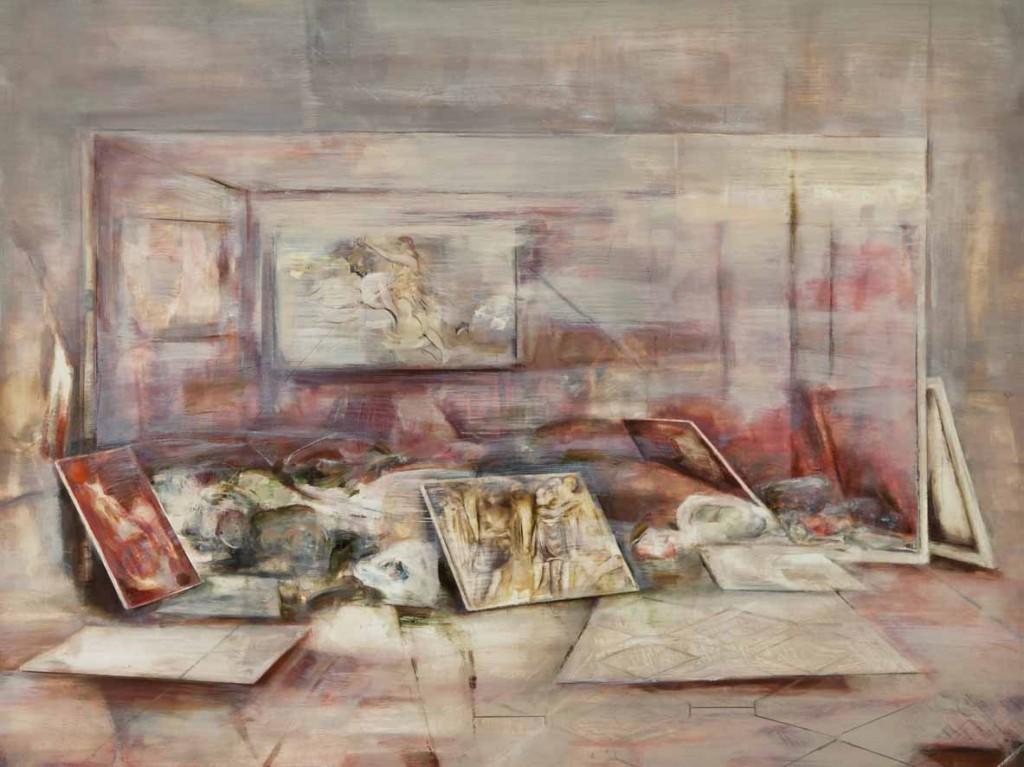 Belongings 4, oil on board, 60x80 cm, 2012
