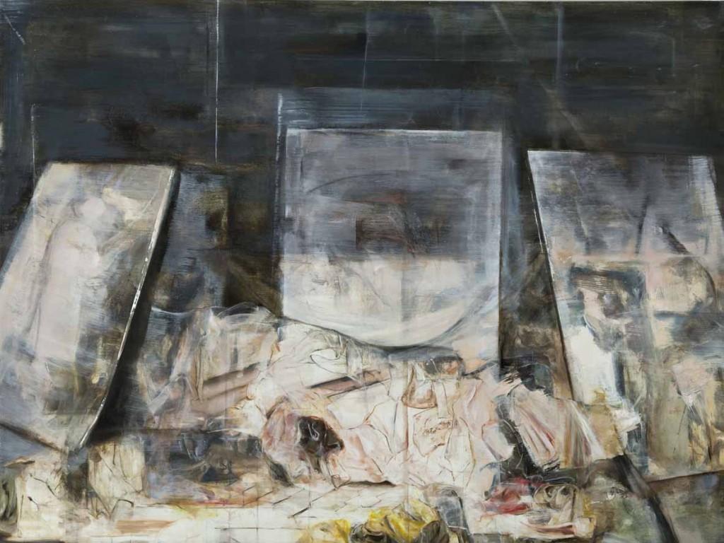Belongings 5, oil on board, 60x80 cm, 2012