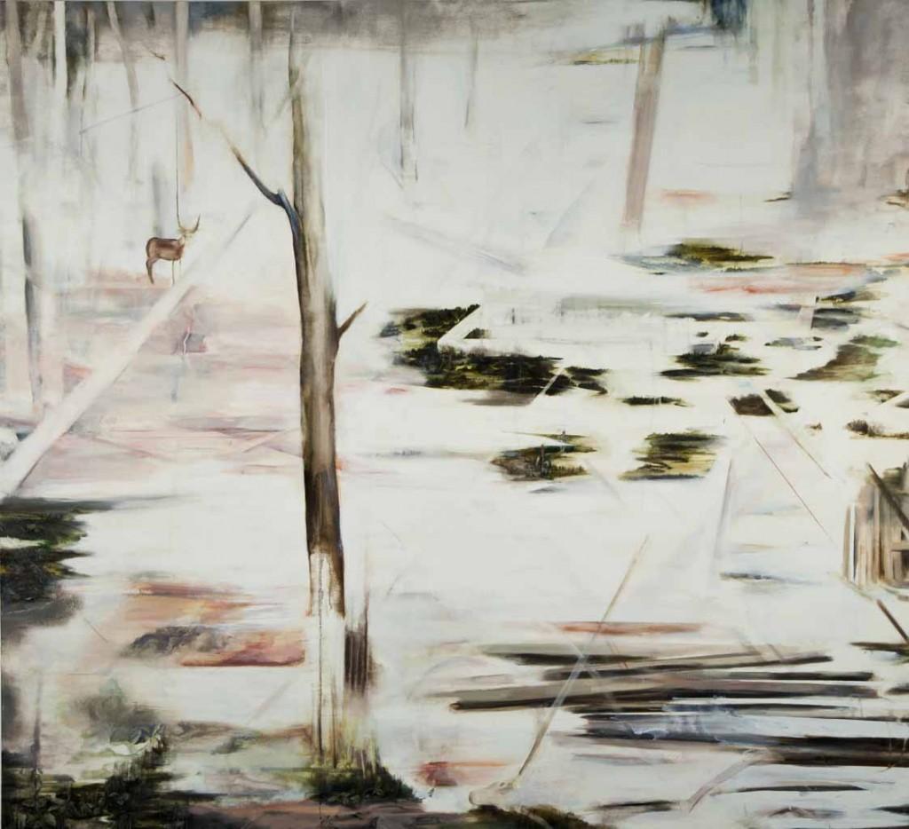White night, oil on canvas, 149x163 cm, 2012