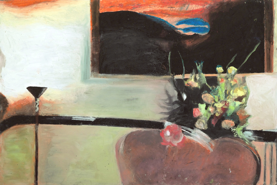 Drawing Room 2, Pastel on Paper, 70x100cm, 2011