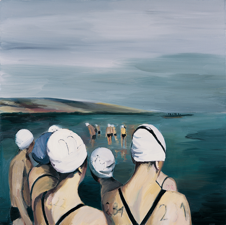 Untitled 6, oil on canvas, 100x100cm, 2012