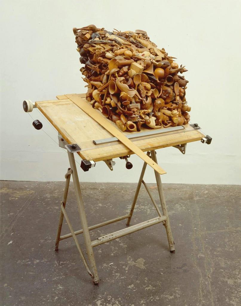 Amikam Toren, Plan B, mixed media, 152x100x70 cm, 2003