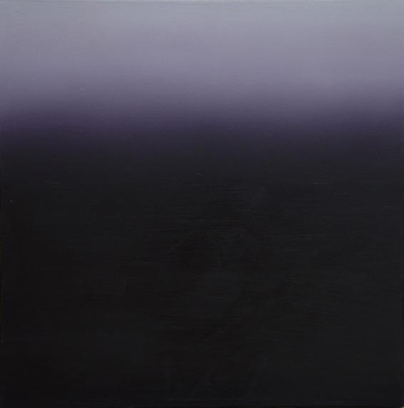 Purple Dawn, Oil on Canvas, 60x60cm, 2003