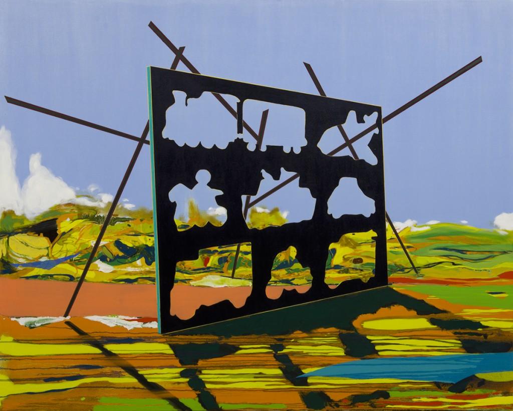 Matan Ben Tolila, Puzzle, Oil on canvas, 166x133 cm, 2015