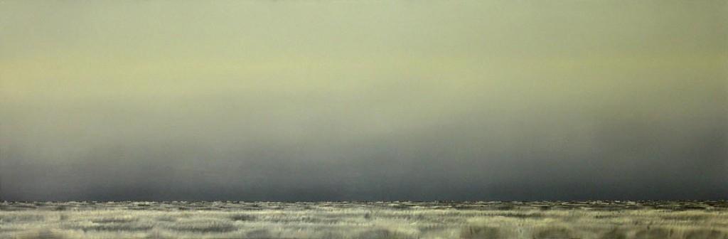 Field, oil on canvas, 160x160cm, 2003