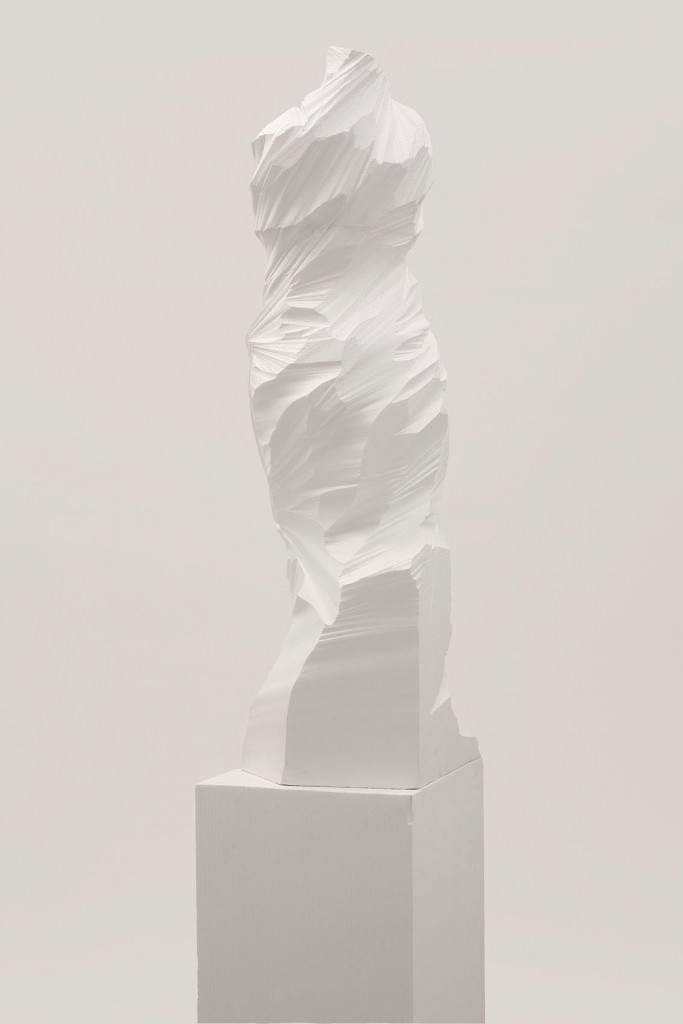 Unseen, Styrofoam, 200x40x40cm, 2008