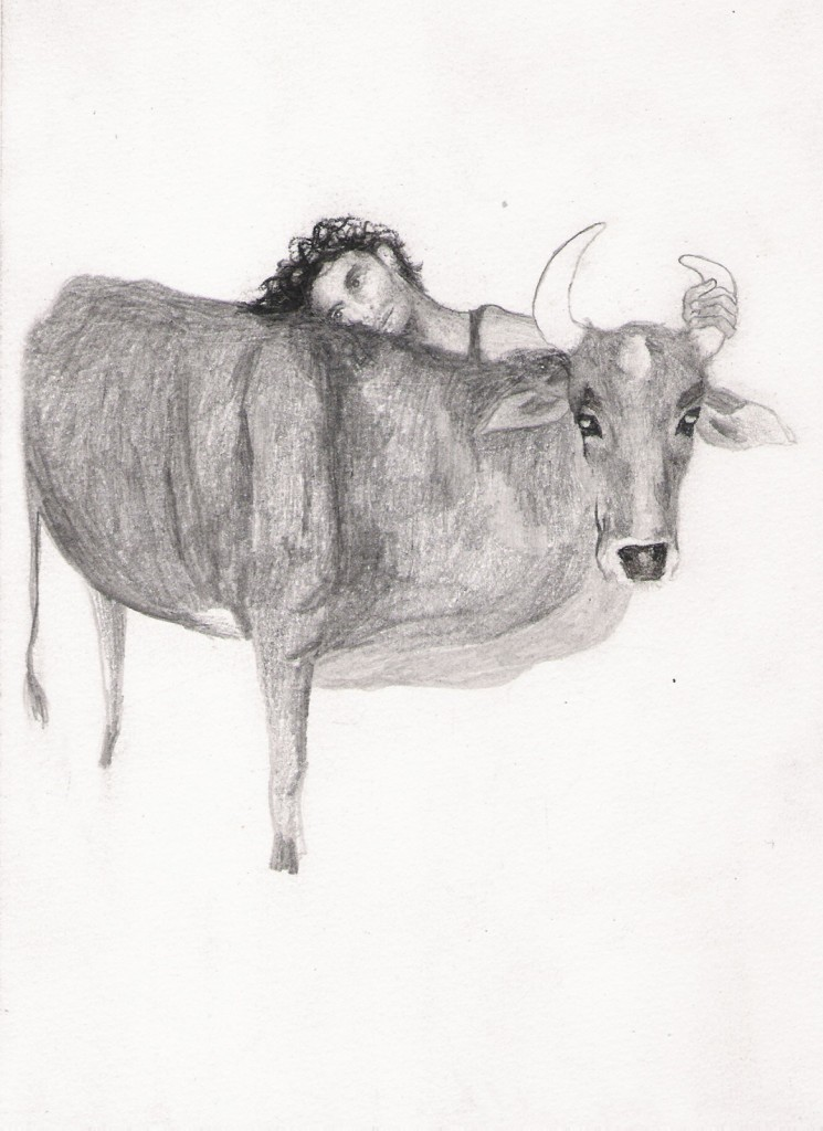 Talia Keinan, Untitled #31, Pencil on paper, 21x15cm, 2007