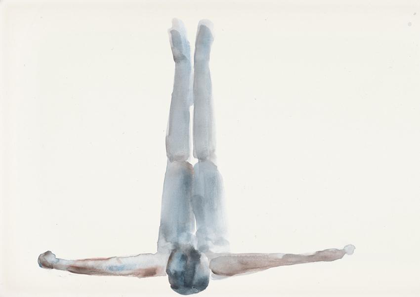 Orly Maiberg, White Ink #2, Inkjet print, 213x150cm, 2015