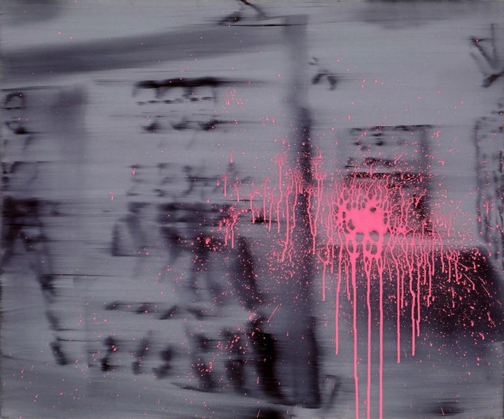 Jossef Krispel, Untitled (Elvis), Oil and acrilic on canvas, 100x120cm, 2007