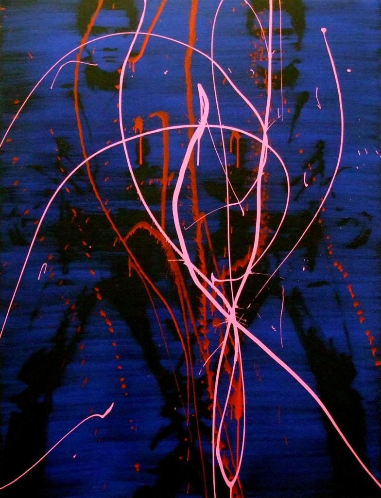 Jossef Krispel, Untitled (Elvis), Oil on canvas, 130x170cm, 2013