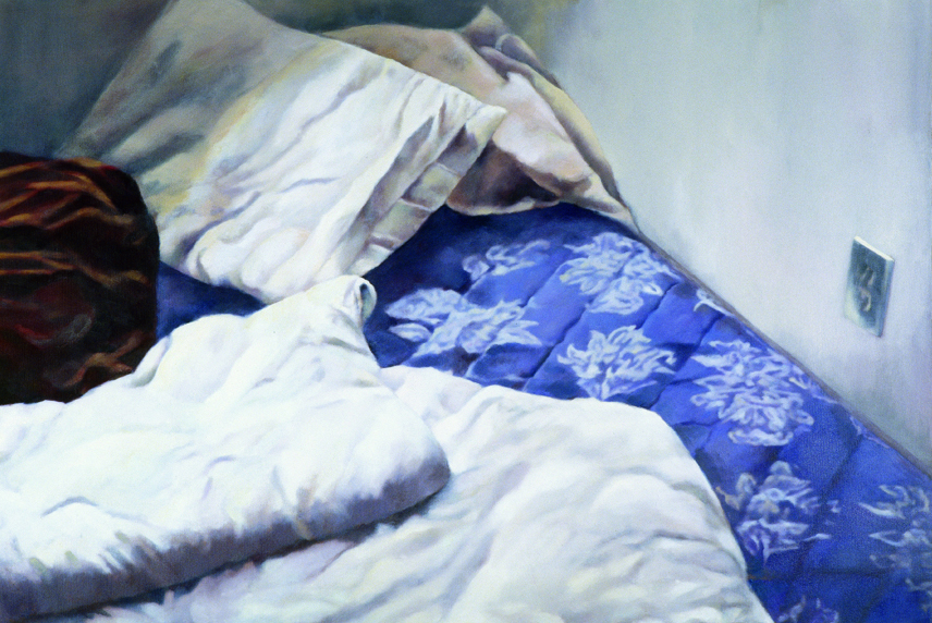 Orly Maiberg, Untitled, Oil on Canvas, 80x120cm, 2003