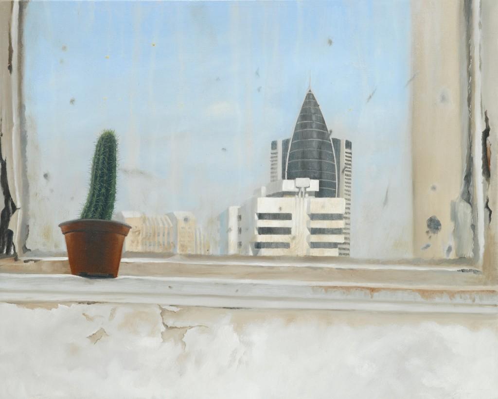Michael Halak, Untitled, Oil on canvas, 50x40cm, 2010