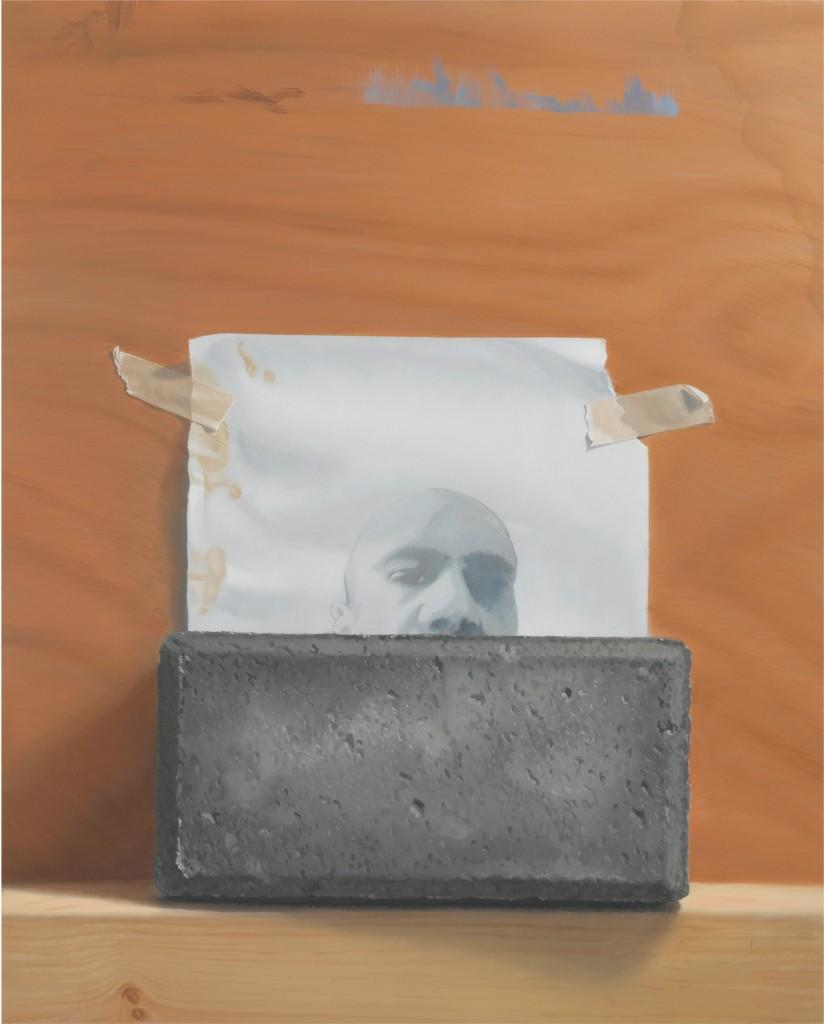 Michael Halak, Untitled, Oil on playwood, 50x40cm, 2011
