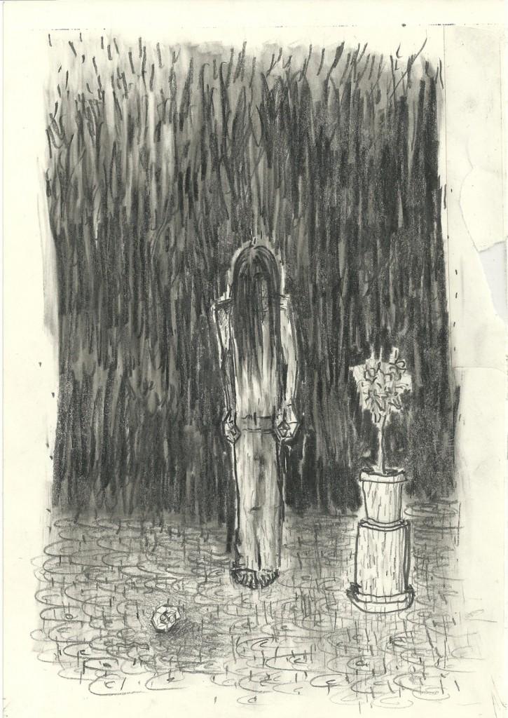 Shahar Yahalom, Untitled, Pencil on paper, 16.5x23cm, 2012
