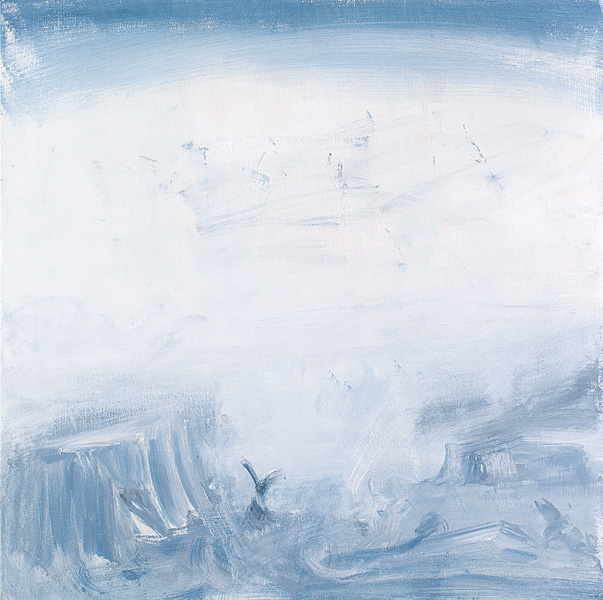 Untitled 13, acrylic on canvas, 100x100 cm, 2011