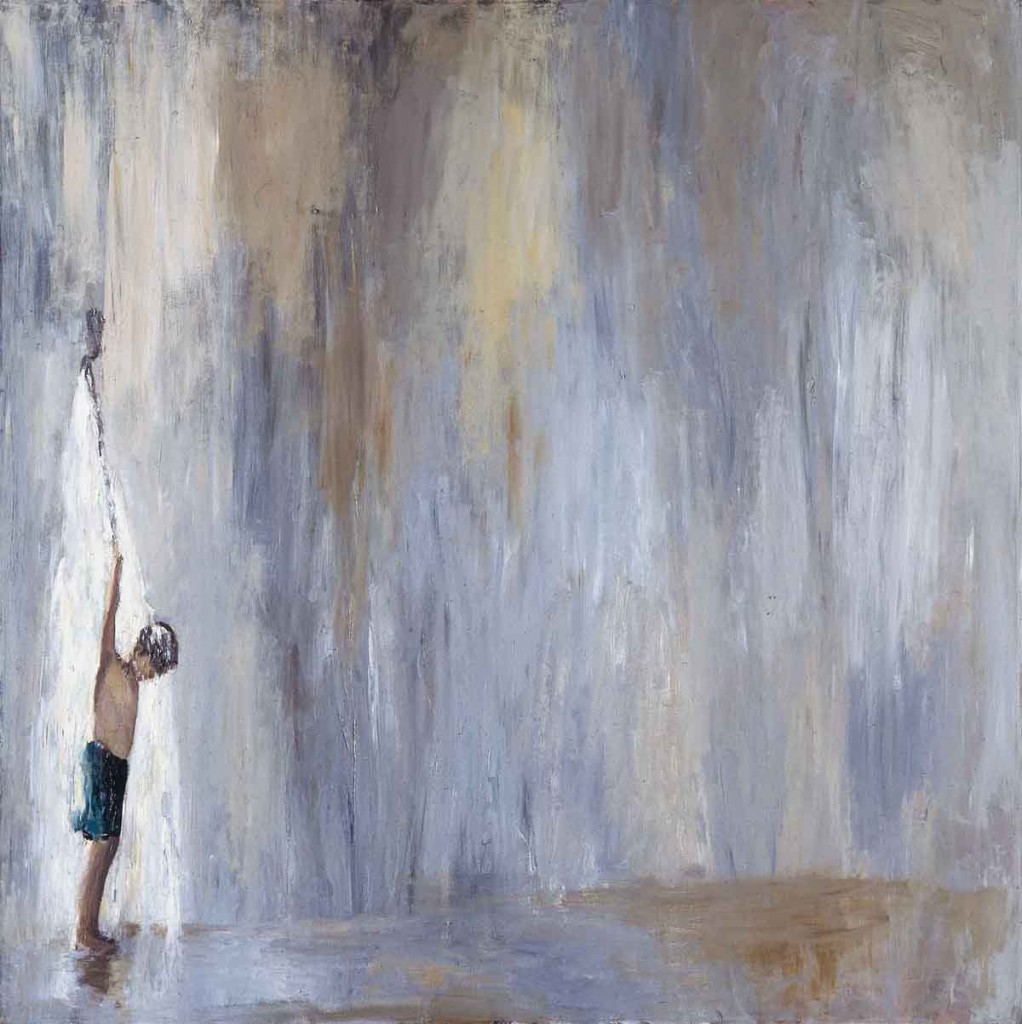 Orly Maiberg, Untitled #26, Oil on Canvas, 155x215cm, 2007
