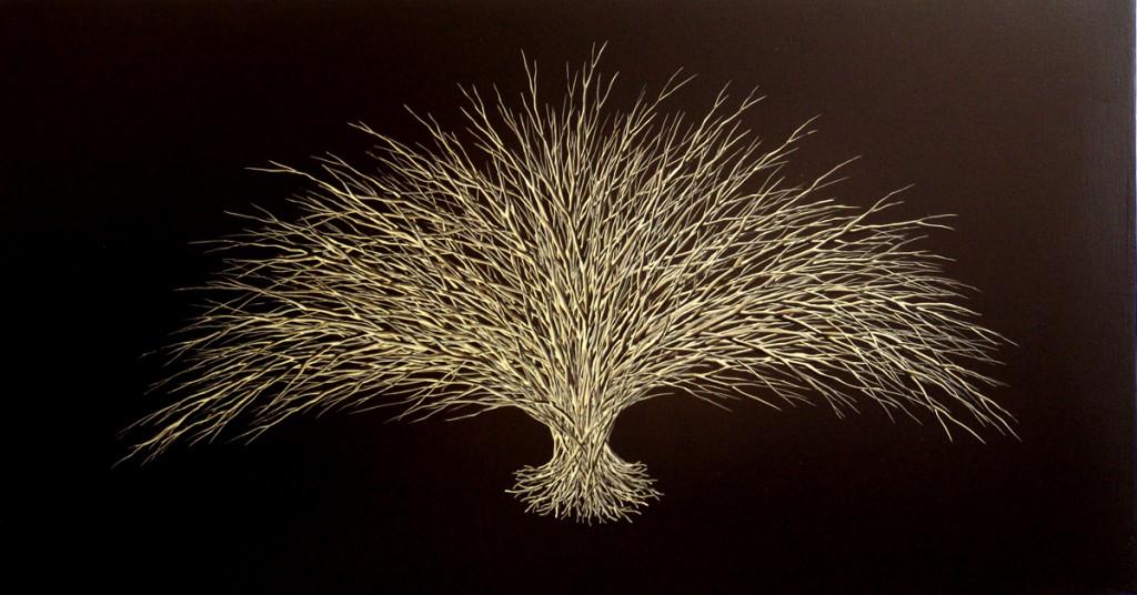 Bois, Oil on canvas, 120x80cm, 2006