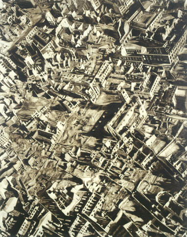 City 2, oil on canvas, 200x160cm, 2002