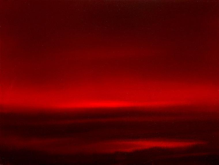 Crimson field, Oil on canvas, 80x60cm, 2011