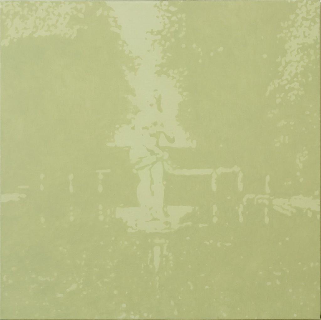Joshua Borkovsky, Echo (day), Oil on linen, 60x60cm, 2006