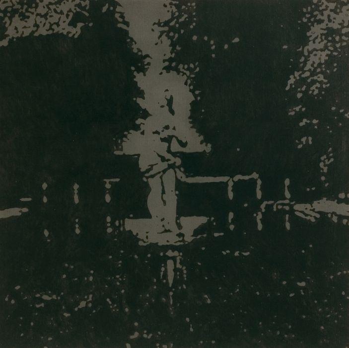 Joshua Borkovsky, Echo (night), Oil on linen, 60x60cm, 2006