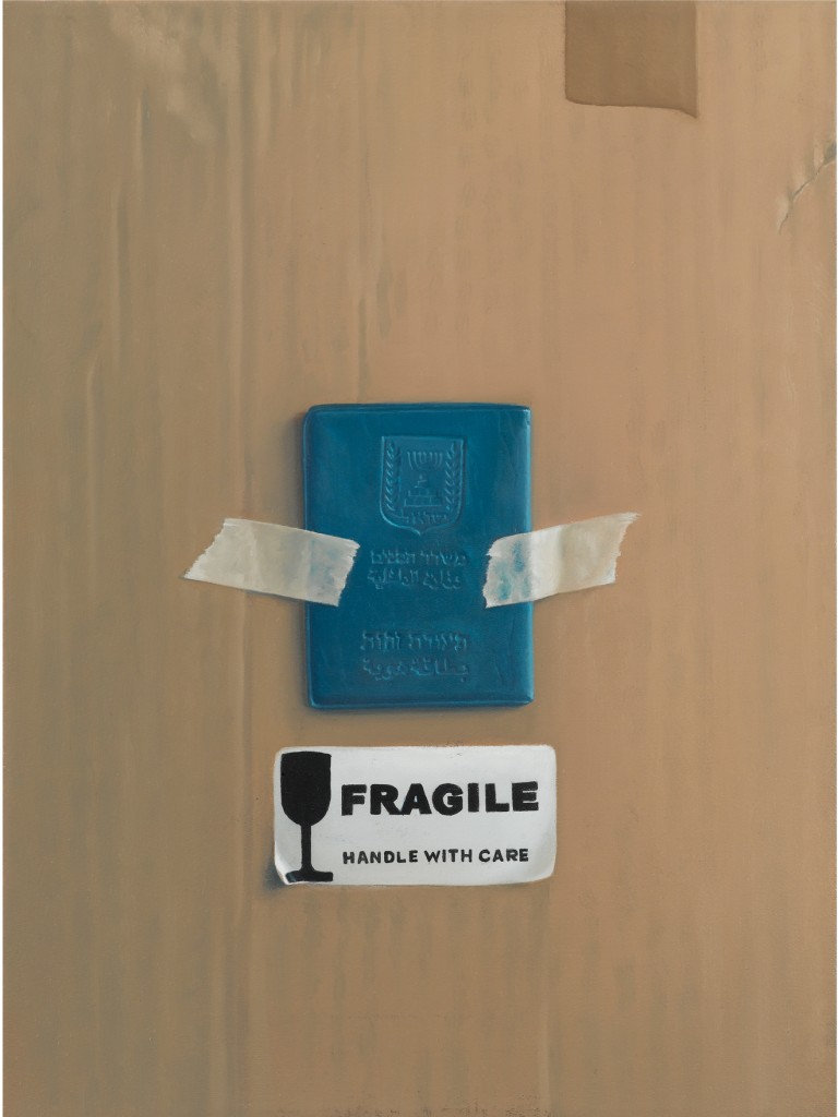 Michael Halak, Fragile, Oil on canvas, 40x30cm, 2011