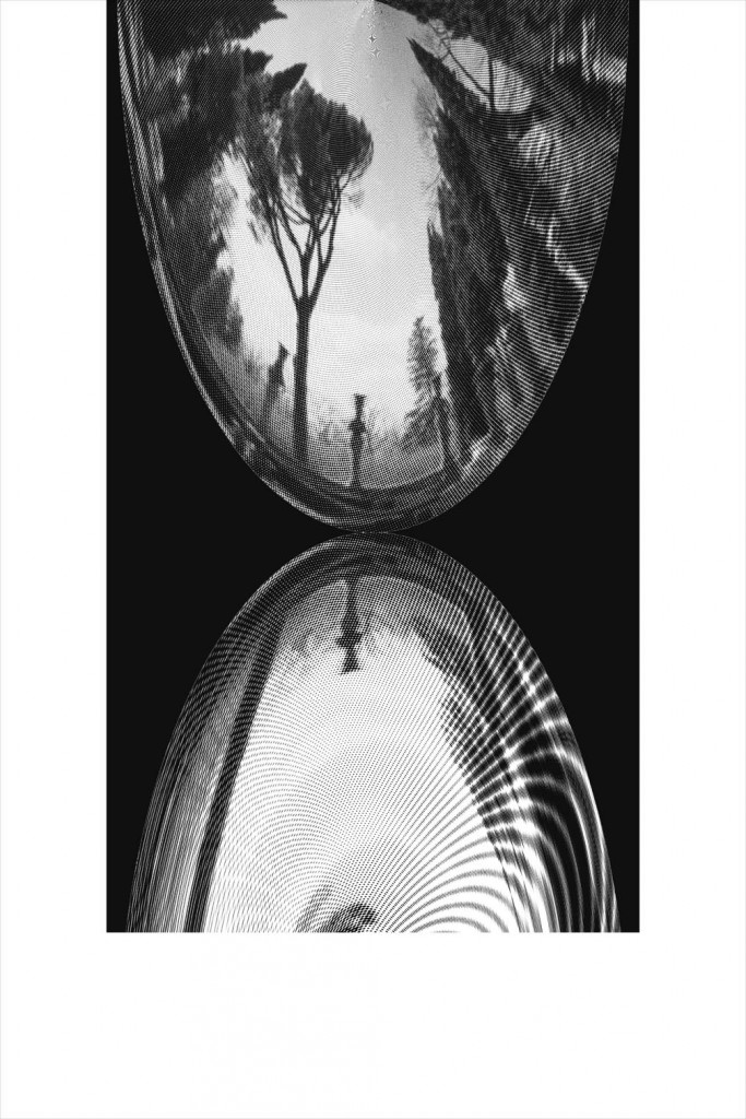 Mirrors, The Garden (3) ,Archive ink print, 150x100cm, 2013/14