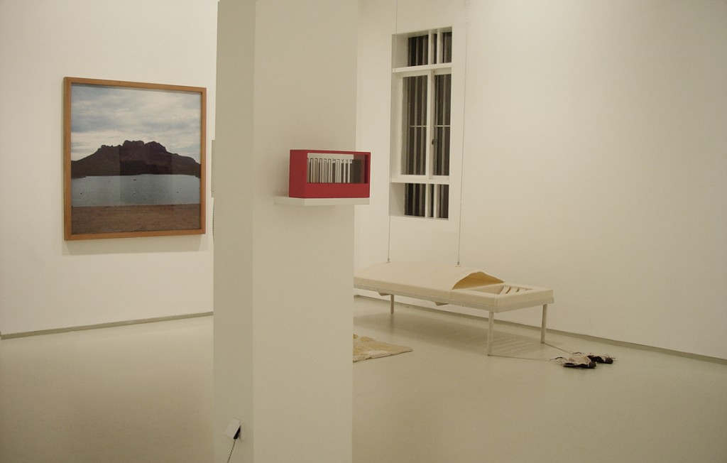 Opening (new space) exhibition 2002, Installation view, Noga Gallery of Contemporary Art, 2002