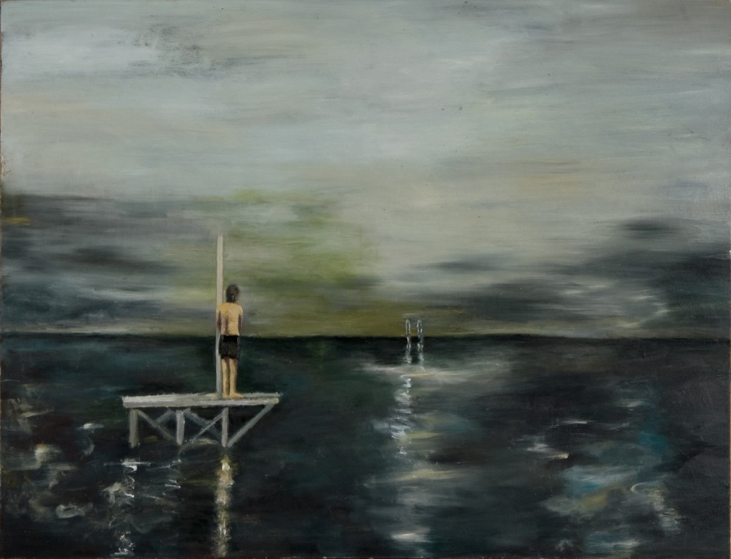 Orly Maiberg, untitled #9, Oil on canvas, 170x154cm, 2006-07