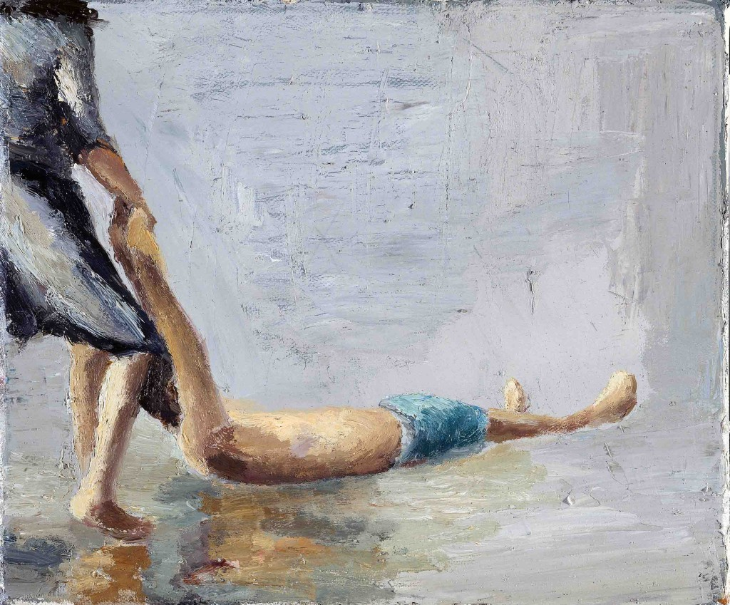 Orly Maiberg, Untitled 4, Oil on Canvas,151x120cm, 2007