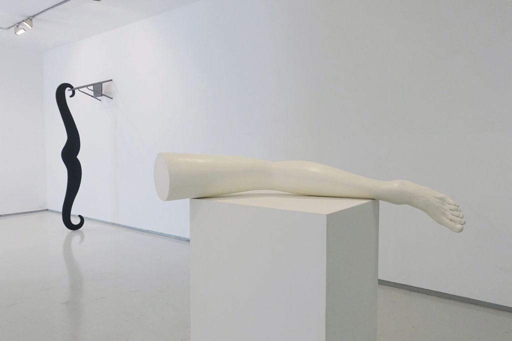 Lea Avital, man without qualities, installation view, noga gallery of contemporary art, 2015