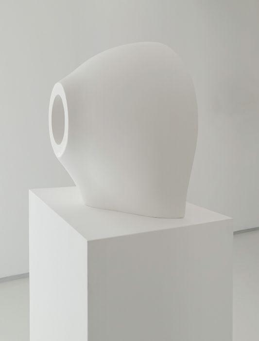 eye, plaster, 40x45cm, 2015