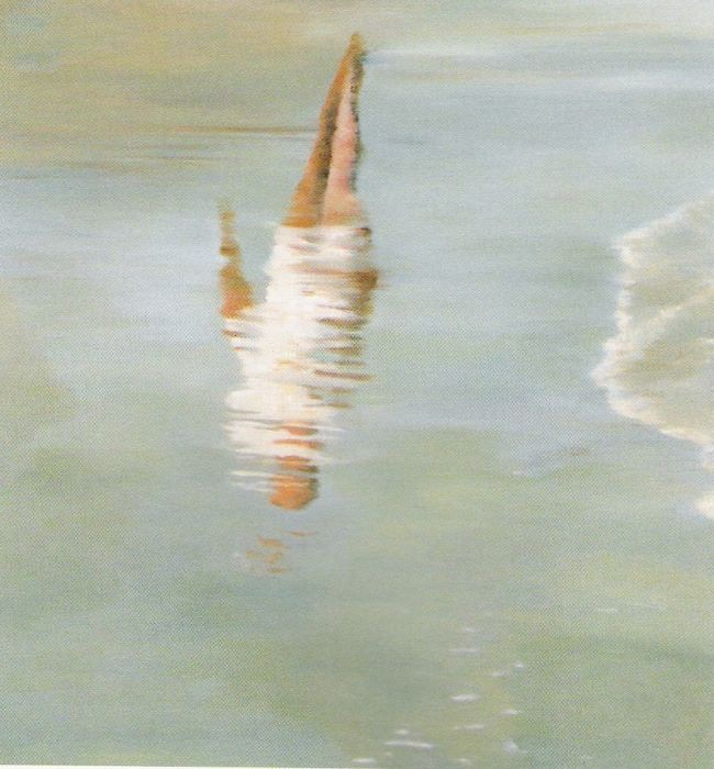 Orly Maiberg, Untitled, oil on canvas, 130x150cm, 2000
