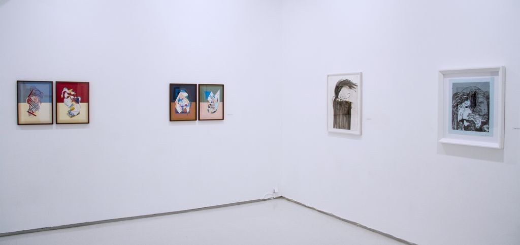 Drawings, Exhibition View, Noga Gallery of Contemporary Art, 2016