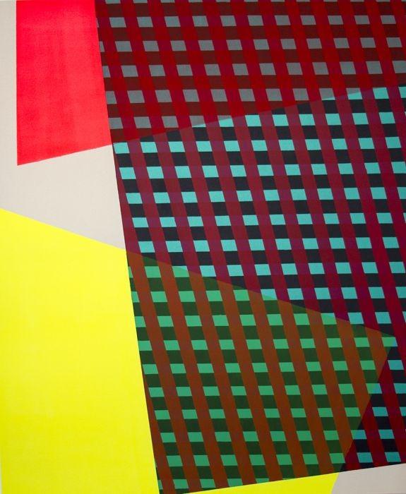 Jossef Krispel, Acrylic and Oil spray on Canvas 175x145cm,2016