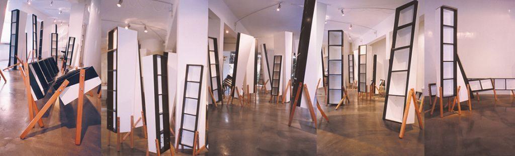 Chanan De Lange, Book Cabinets, Periscope Gallery, Tel Aviv,1998