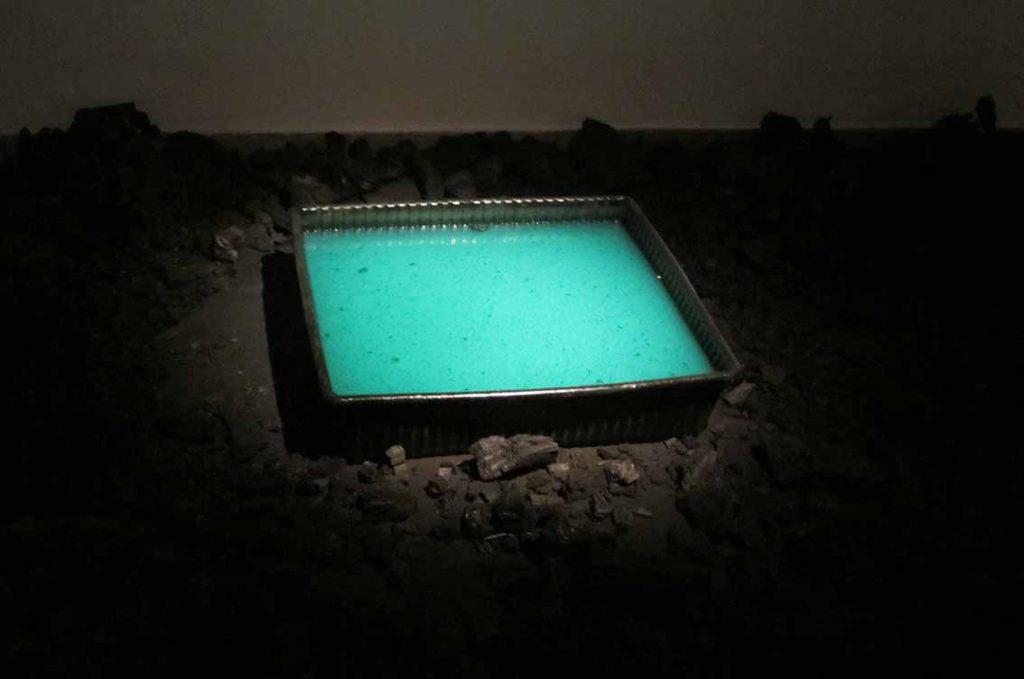 Dina Shenhav, After Dark, mixed media, 5x3x1m, 2014