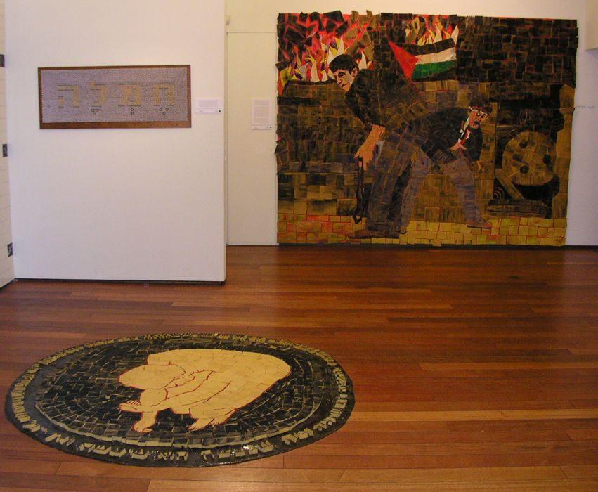 Dina Shenhav, Game over, Herzelia Museum of Art, Israel, 2001