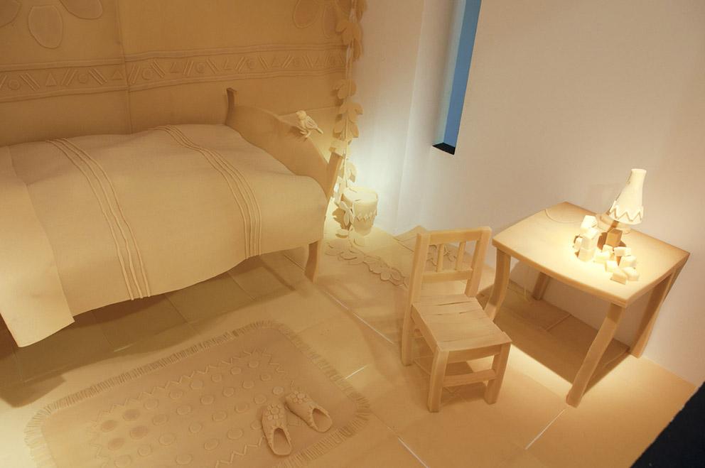 Dina Shenhav, The bed's dream, spong, The Israel Museum, Israel, 2011