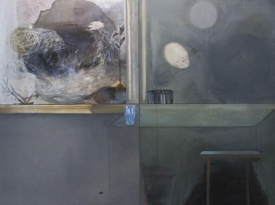 Talia Keinan, untitled #5, mixed media on canvas, 180x240cm, 2016