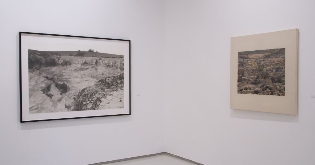 Linked Thread, Exhibition View, Noga Gallery, 2017