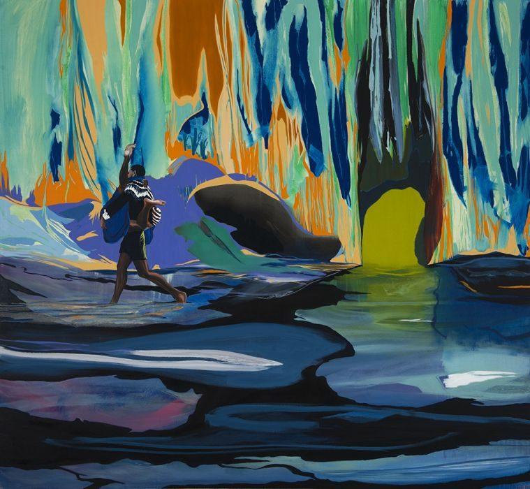 Matan Ben-Tolila, Confrontation #2, oil on canvas, 165x180 cm, 2017