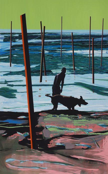 Matan Ben-Tolila, Look, oil on canvas, 160x100 cm, 2017
