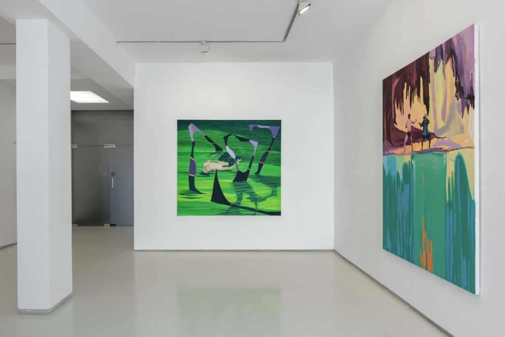 Bat Kol, installation view, noga gallery, 2018
