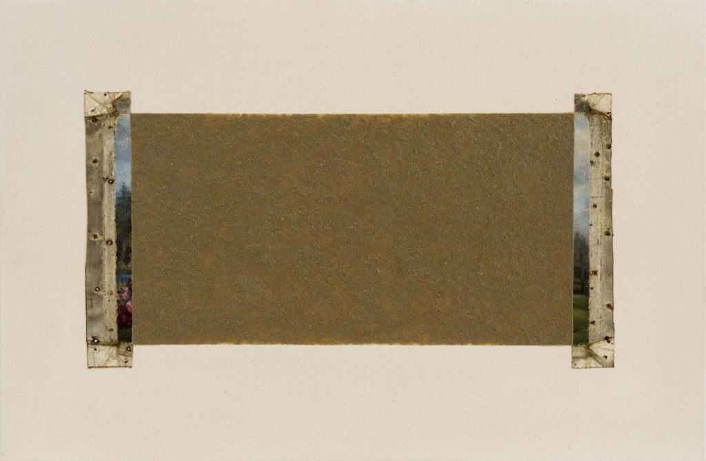 Amikam Toren, Victoria Park Remembered, 2015, mixed media, 67x101 cm.